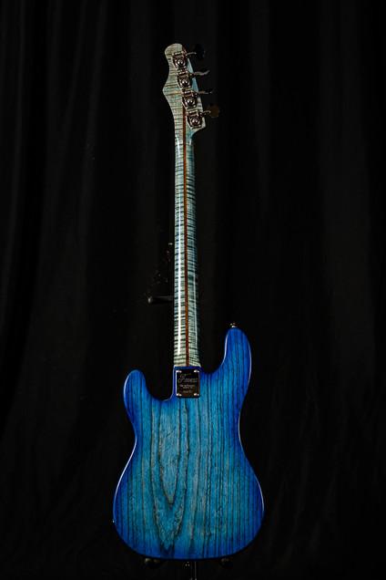 Custom PJ Deluxe Blue Burst