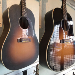 Gibson Top Refinish