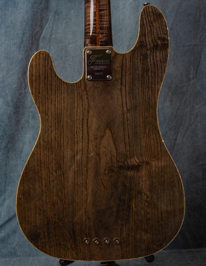 Custom '68 Telecaster Bass in Transparent Black