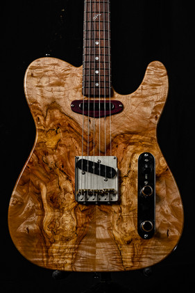 Custom T Spalted Flame