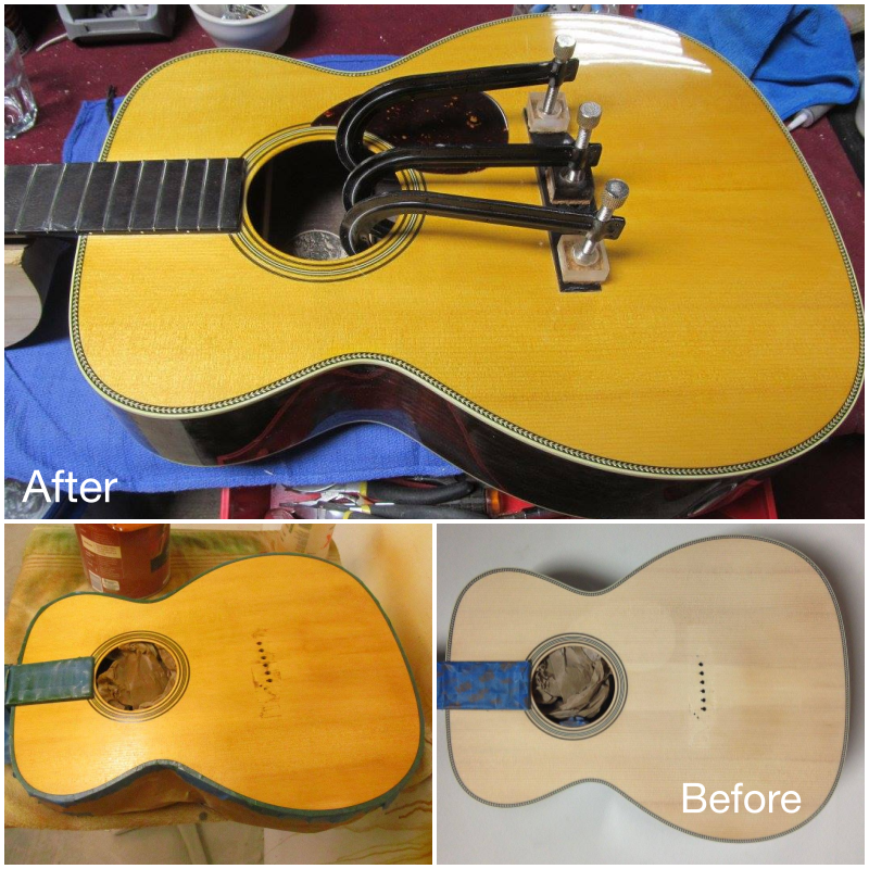 Collings Refinish