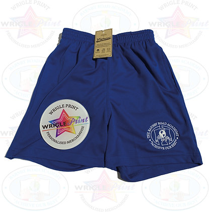 PE Shorts Lined with Pockets