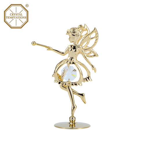Gold plated Fairy Iron table decoration
