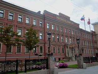 Здание Исидоровского епархиального женского училища с домовой церквью Св. Исидора Пелуситского.