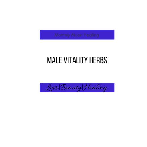 Male Vitality Herbs