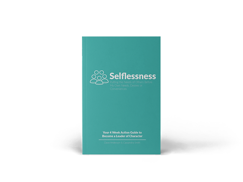 Selflessness 4-Week Action Guide Book
