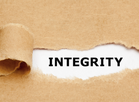 Your Integrity Is Your Choice