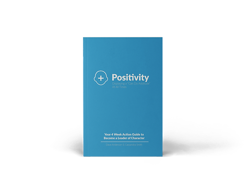 Positivity 4-Week Action Guide Book