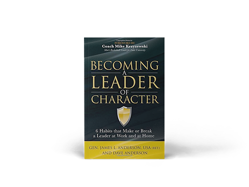 Becoming A Leader Of Character - Signed Book