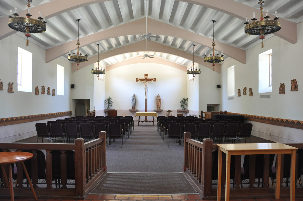 Chapel used as a conference room also