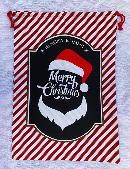 Le grand sac à cadeaux Père Noël à personnaliser