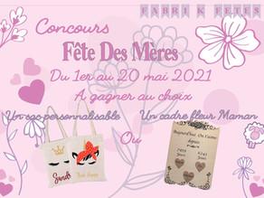 Fabri K Fêtes & IDD Cocos                                                  > Concours Fête des Mères