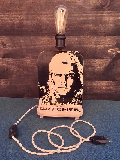 """Lampe Thème """" The Witcher """""""