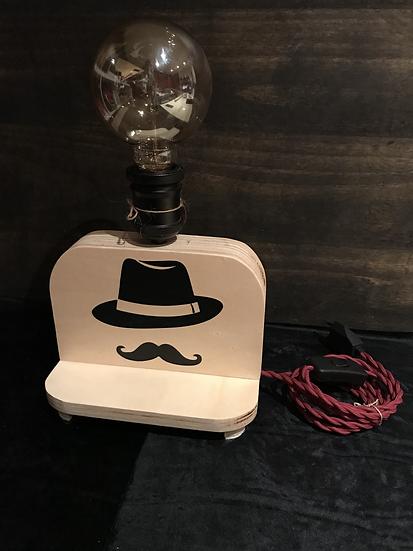 """Petite Lampe """"Mr"""" à personnaliser avec un prénom"""