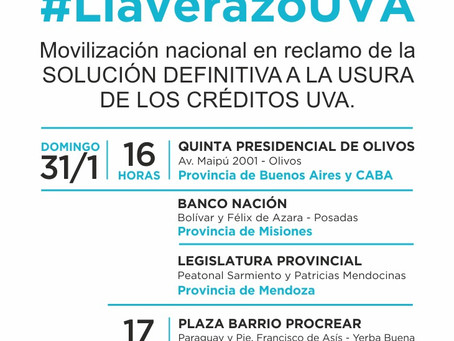 #LlaverazoUVA  SI ALBERTO FERNÁNDEZ NIEGA NUESTRA REALIDAD, QUE ESCUCHE A NUESTROS HOGARES.
