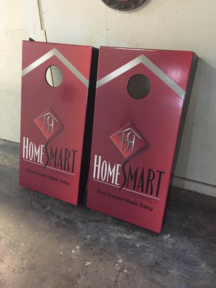 Homesmart Cornhole Board Wraps