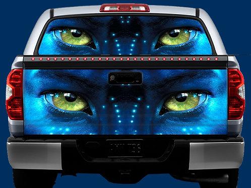 Tailgate / Window Wrap - Navi Eyes