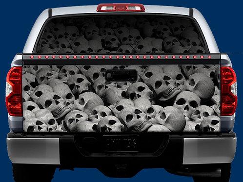 Tailgate & Window Wrap Kit - Skulls
