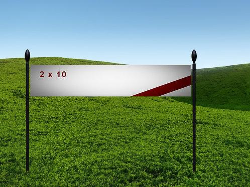 2' x 10' 13oz Banner