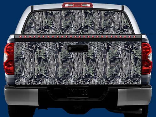 Tailgate / Window Wrap - Camo 1