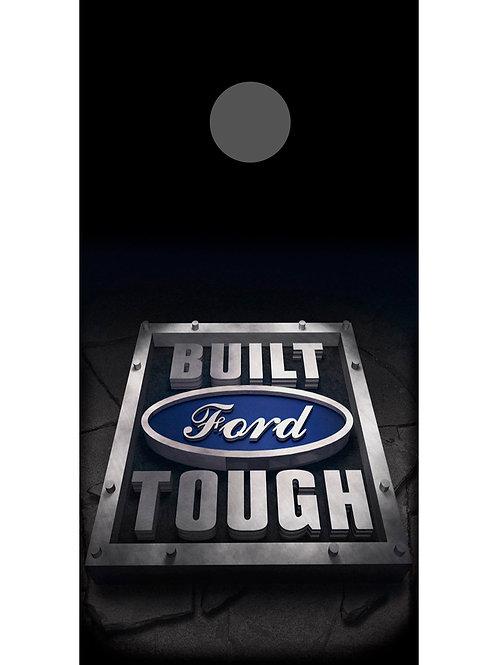 Ford Tough 1 Cornhole Wrap Set