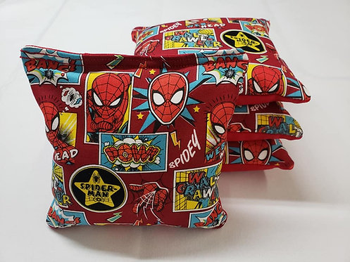 Set of 4 -Marvel Spiderman Outside the Box FREE SHIPPING