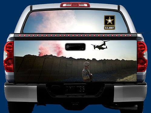 Tailgate & Window Wrap Kit - Army