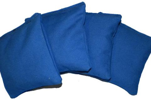 "BLUE Duck Cloth 6"" Bags (Set of 4)"