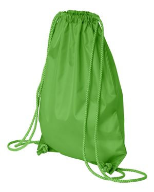 DRAWSTRING BAG (LIME GREEN)