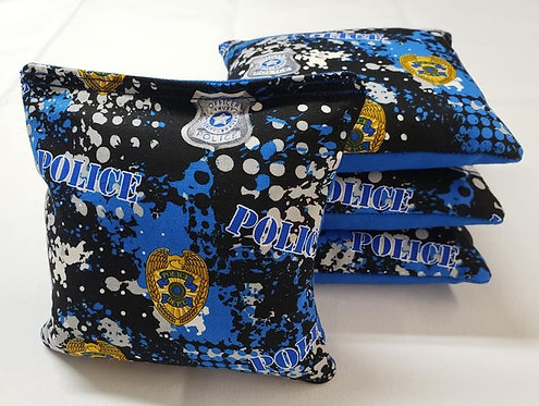 Set of 4 - Police FREE SHIPPING