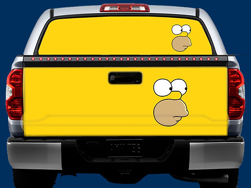 Tailgate / Window Wrap - Homer