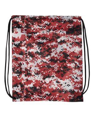 DRAWSTRING BAG (RED CAMO)