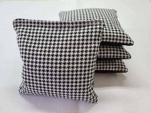Set of 4 - Wedding Houndstooth FREE SHIPPING