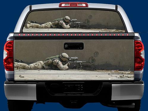 Tailgate / Window Wrap - Sniper