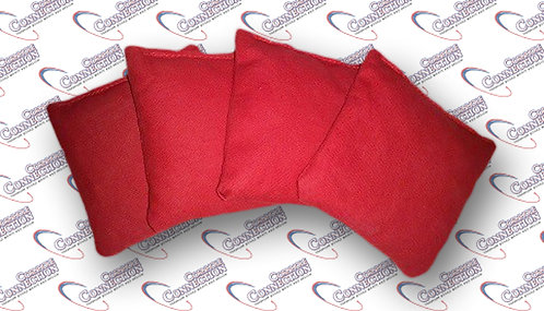 Set of 4 - Red