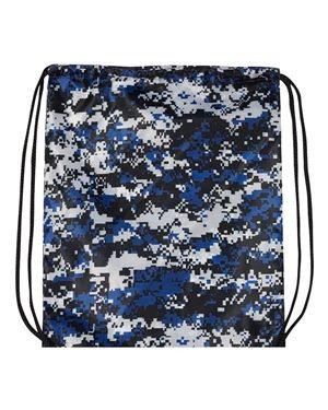 DRAWSTRING BAG (BLUE CAMO)