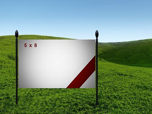 5' x 8' 13oz Banner