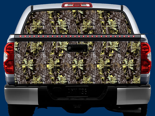 Tailgate / Window Wrap - Camo 2