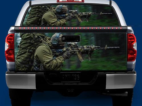Tailgate / Window Wrap - Soldier