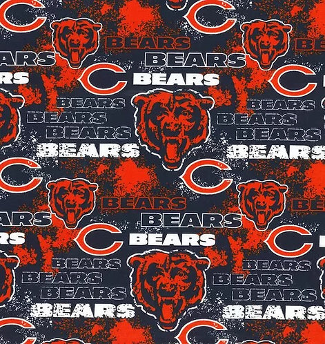Set of 8 -Chicago Bears Distressed