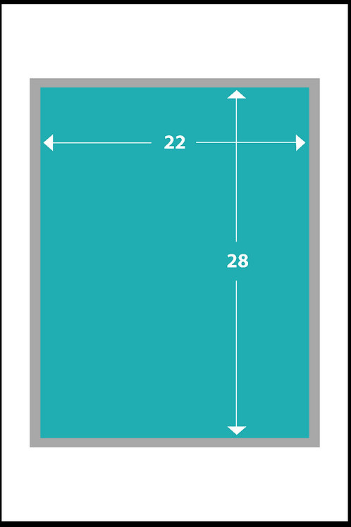 22 x 28 Gloss Poster Paper