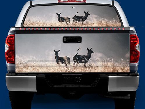 Tailgate / Window Wrap - Deer & Birds