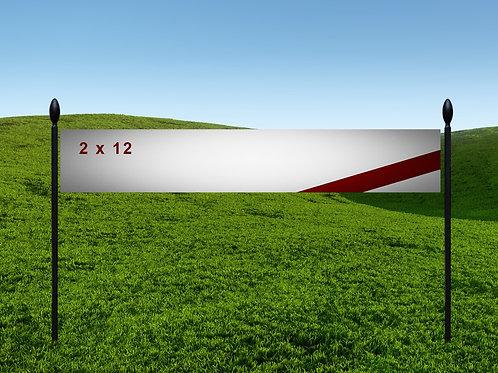 2' x 12' 13oz Banner