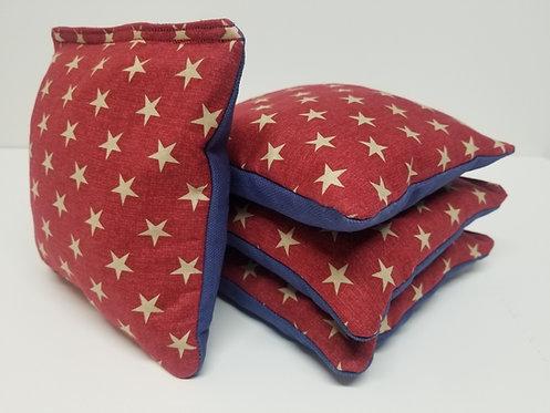 Set of 4- Stars Red