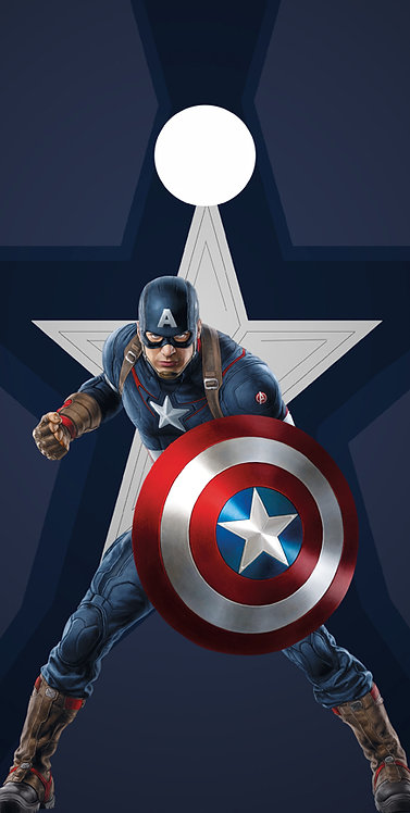 CLEARANCE Cartoons 6 Captain America
