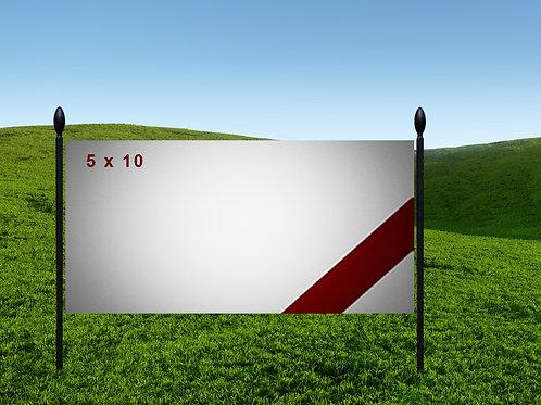 5' x 10' 13oz Banner