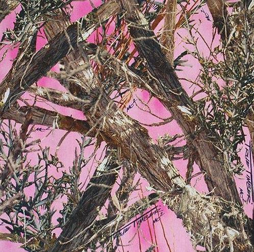 Set of 4 - Camo Pink True Timber