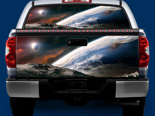 Tailgate / Window Wrap - Earth & Moon
