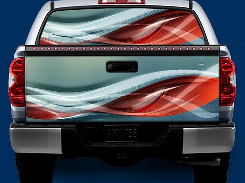 Tailgate / Window Wrap - Digital Red