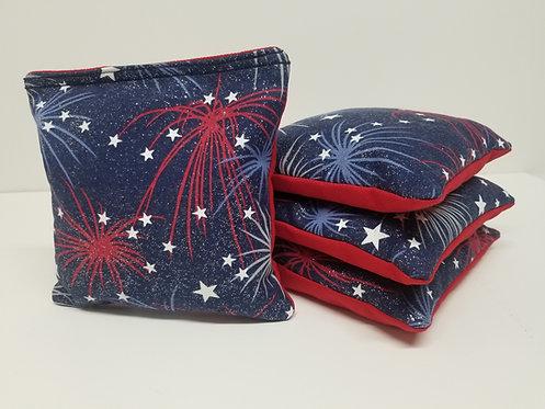 Set of 4 - Fireworks Glitter